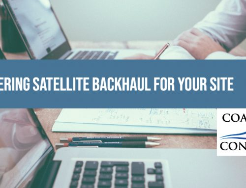 Considering Satellite Backhaul for Your Site