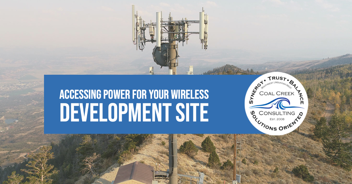 Accessing Power for Your Wireless Development Site