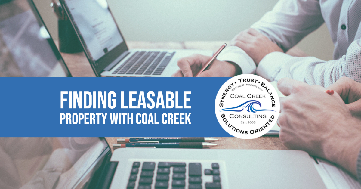 Finding Leasable Property with Coal Creek